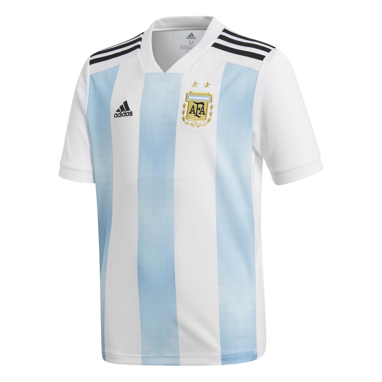 CAMISETA ADIDAS ARGENTINA MUNDIAL RUSIA 2018 NIÑOS - sporting 76a39f49af6b9