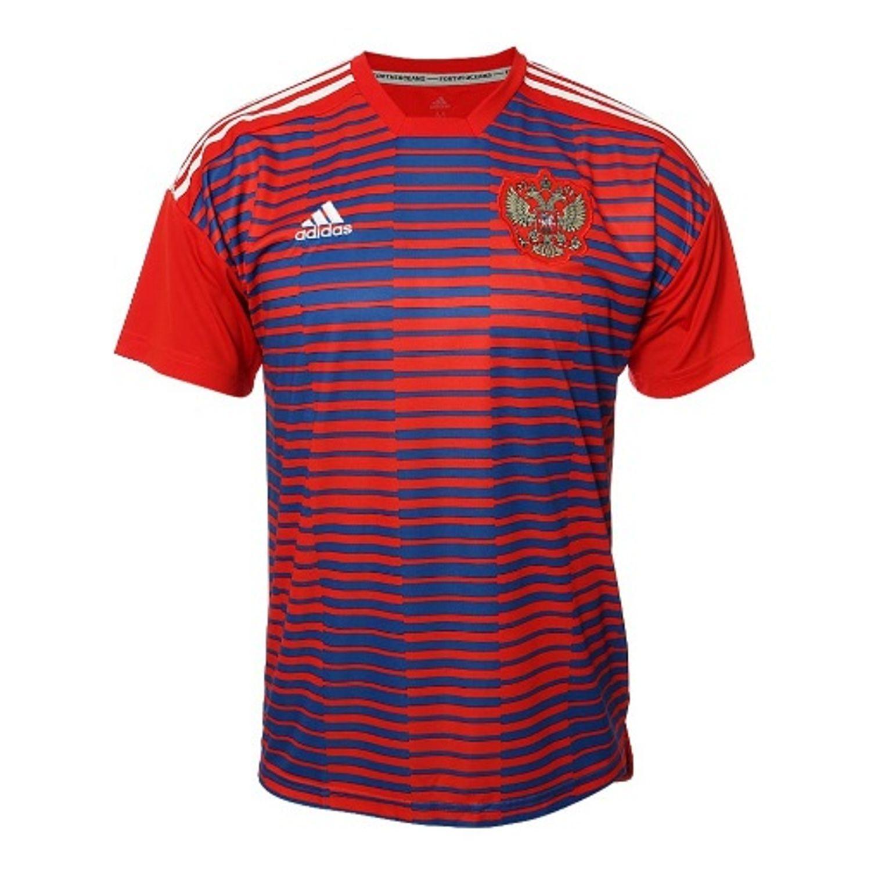 72b261652076f 44%. DFFDFDF  DFFDFDF. ADIDAS. Camiseta De Futbol Prepartido Selección De Rusia  2018 Hombre