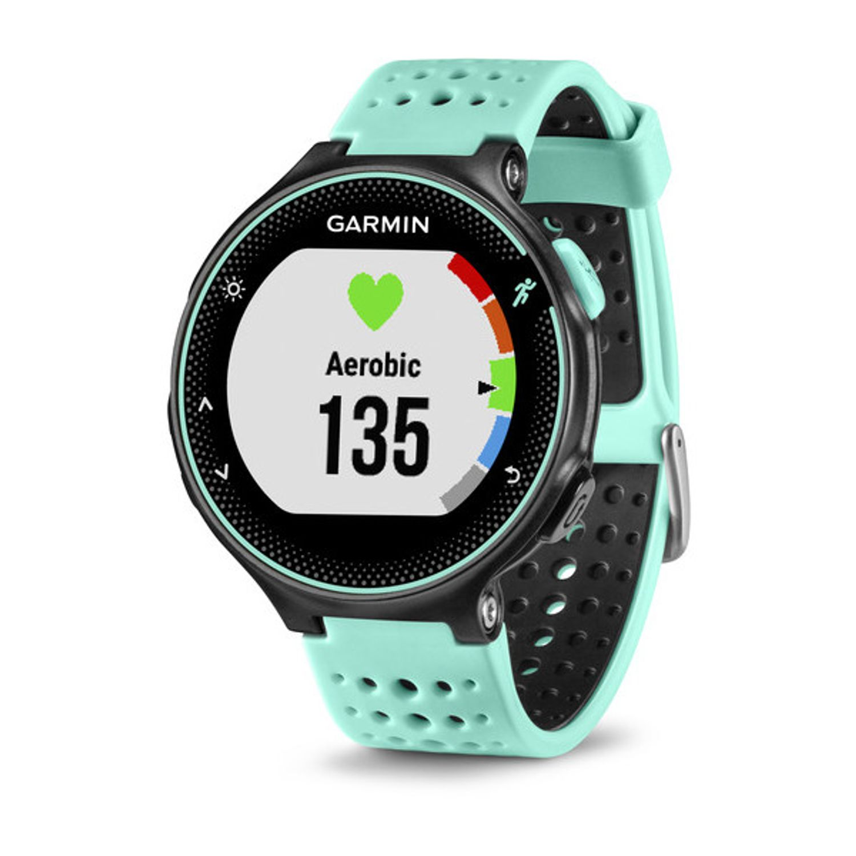 9f53c78ef310 RELOJ GARMIN FORERUNNER 235 CON GPS AQUA/BLACK - sporting