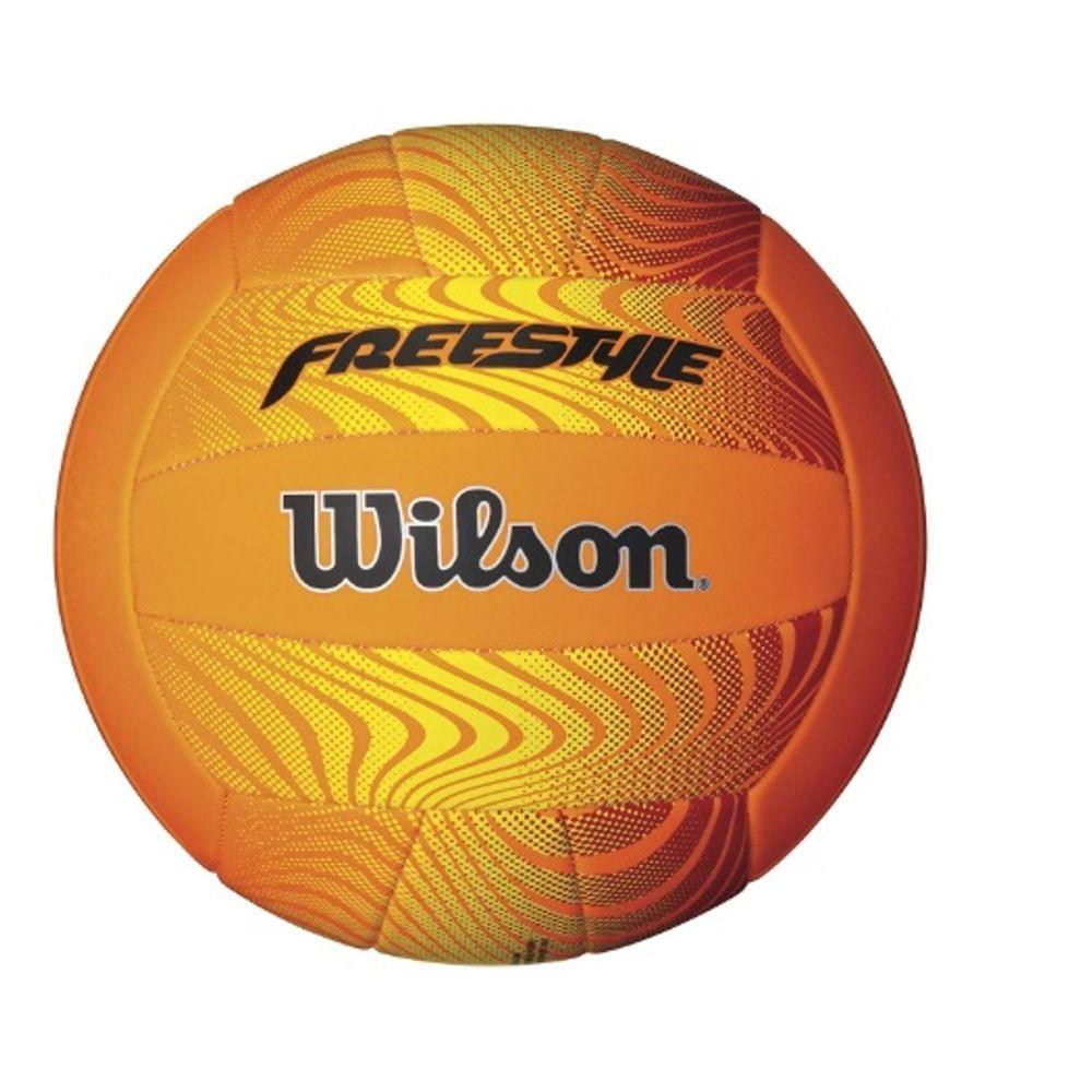 Pelota Wilson de voley Freestyle naranja - sporting 09494e2aac2cd