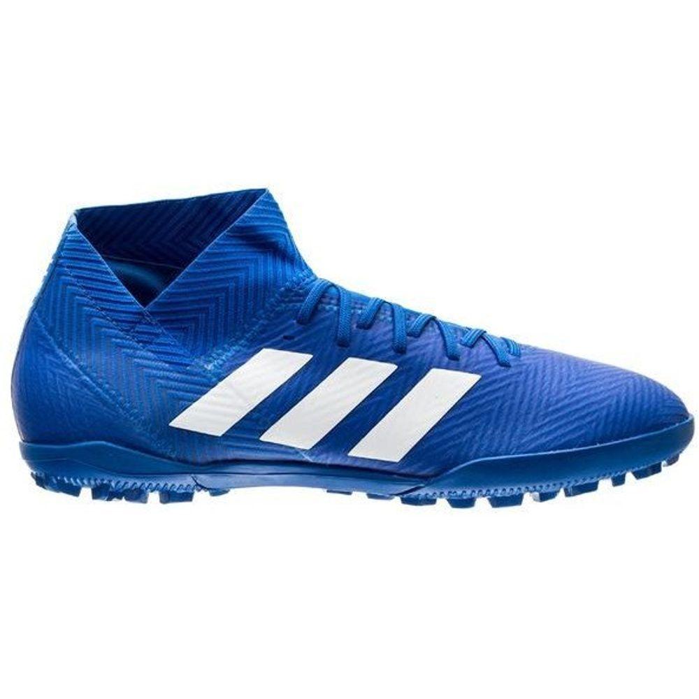 Botines adidas Nemeziz Tango 18.3 TF azul De Hombre - sporting e67f7ce373b
