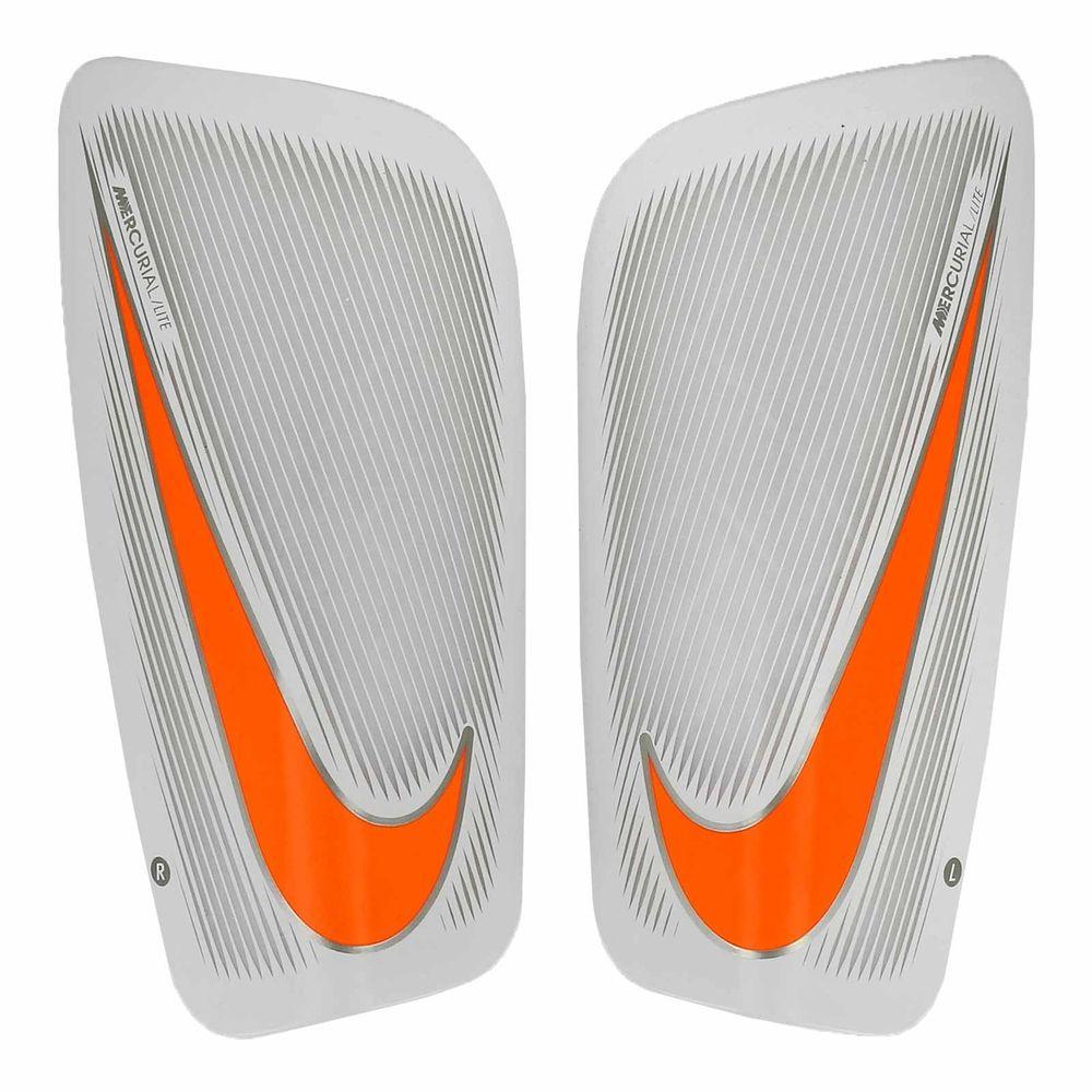 SP2086-103_Espinilleras-de-futbol-Nike-Mercurial-Lite-blanco-naranja_1_frontal