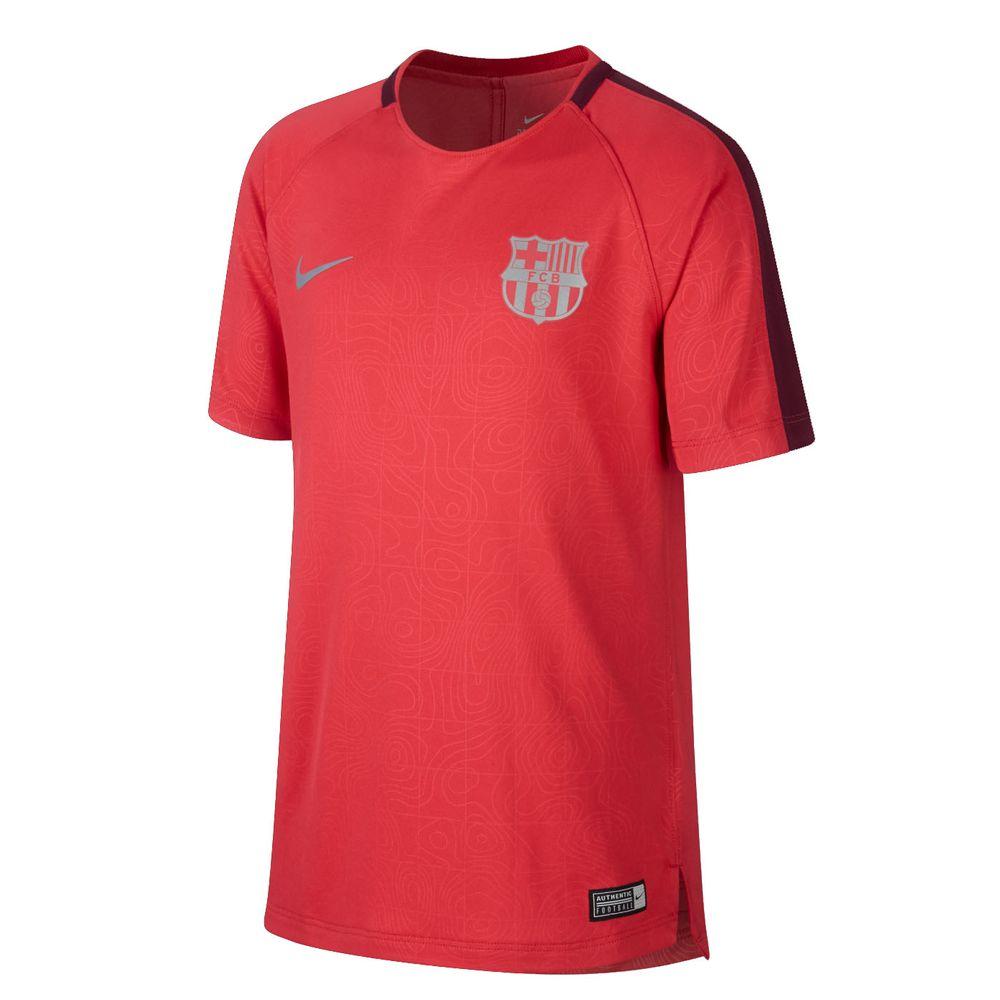 Fc Nike Sporting De Top Gx Squad Camiseta Barcelona Dry Niños EqdOTT