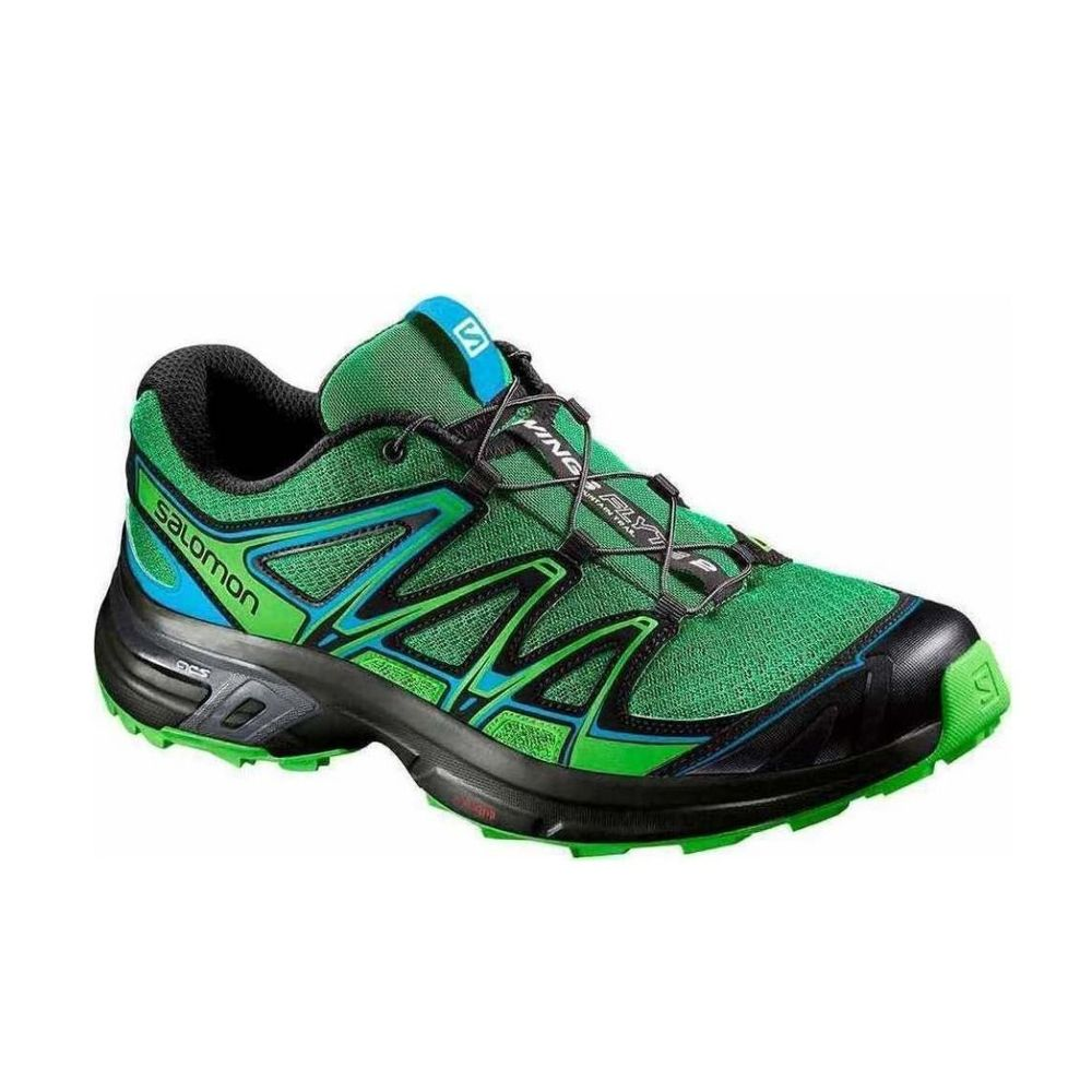 Zapatillas Salomon Wings Flyte 2 De Hombre Color: Verde - Talle: 39.5