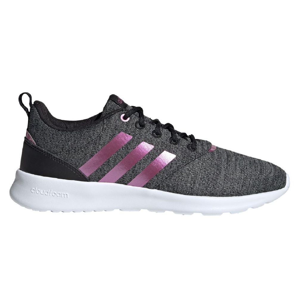 Zapatillas adidas QT Racer 2.0 de Mujer Color: Gris - Talle: 35