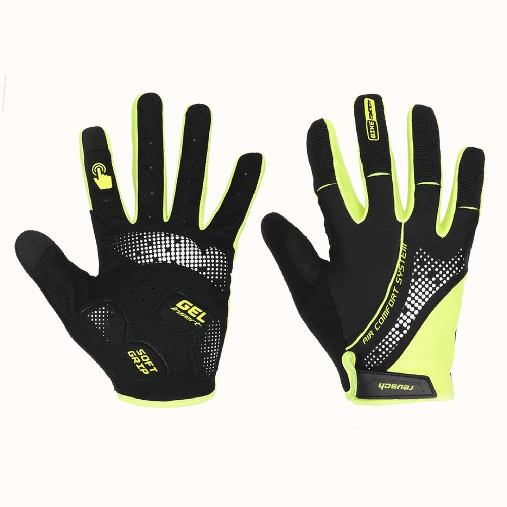 Guantes de Ciclismo Reusch Touch Color: Negro - Talle: S