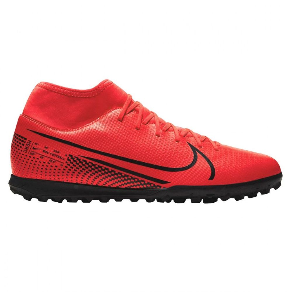 Botines Nike Superfly 7 CLub TF de Hombre Color: Rojo - Talle: 40
