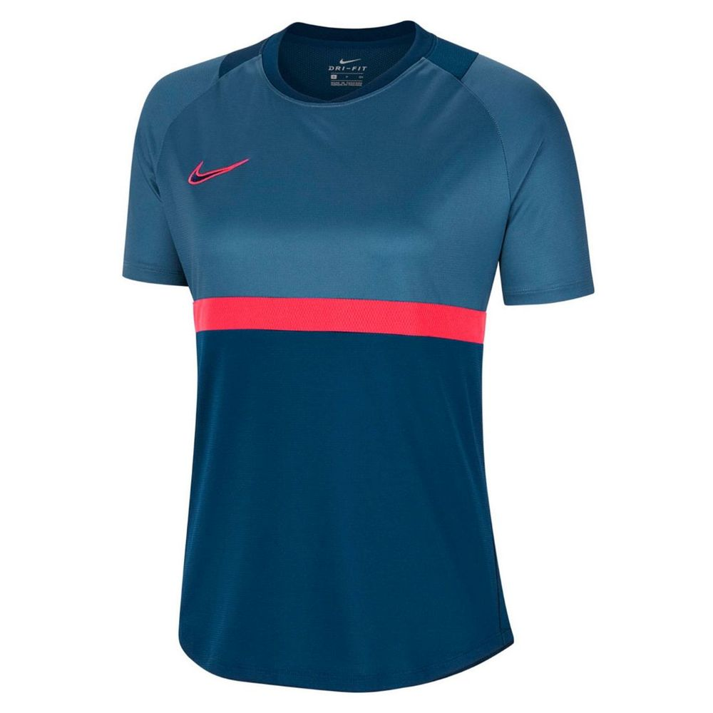 Remera Nike Academy 20 Dry De Mujer Color: Azul - Talle: S