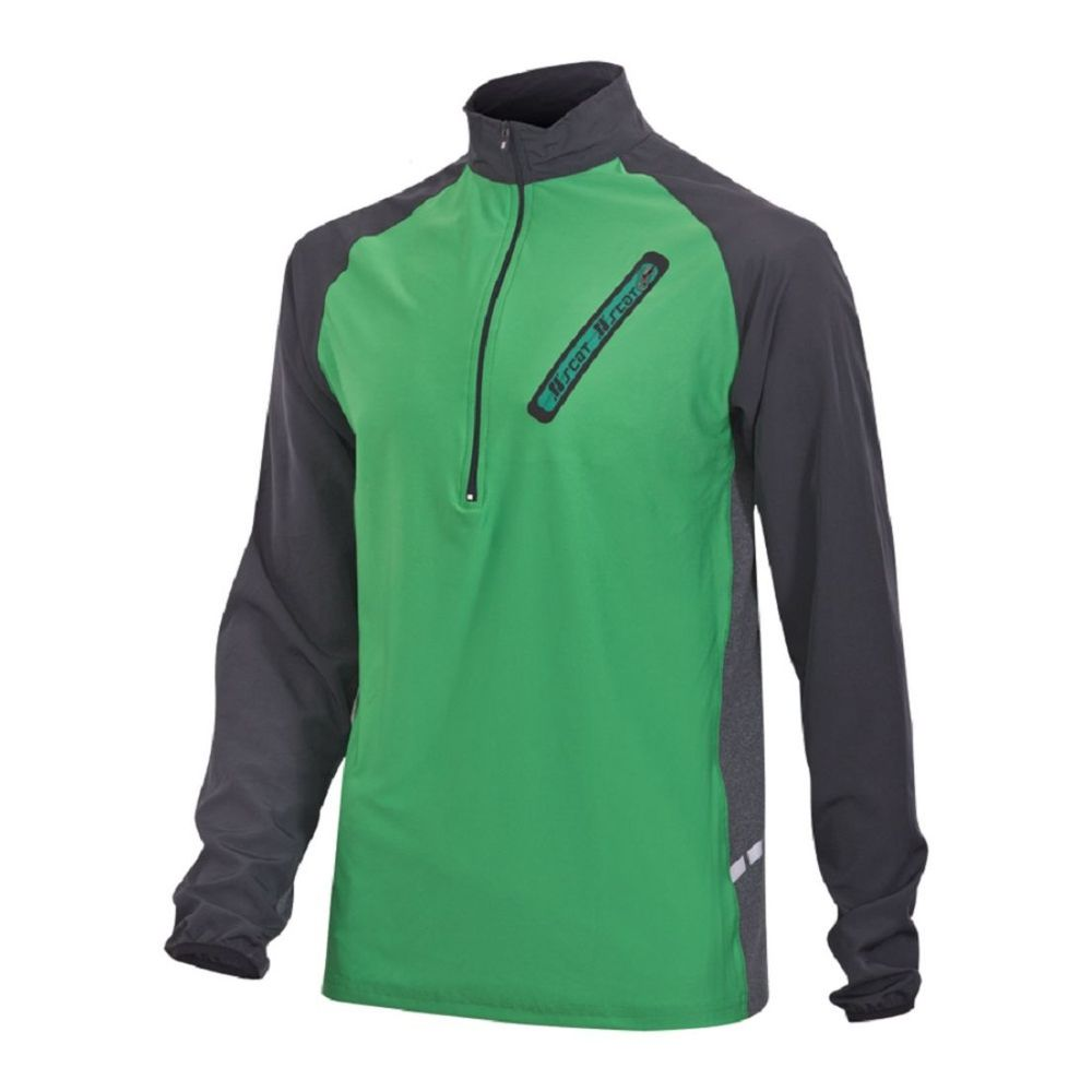 Buzo Scat Half Zip Ultra Suave De Hombre Color: Verde - Talle: S
