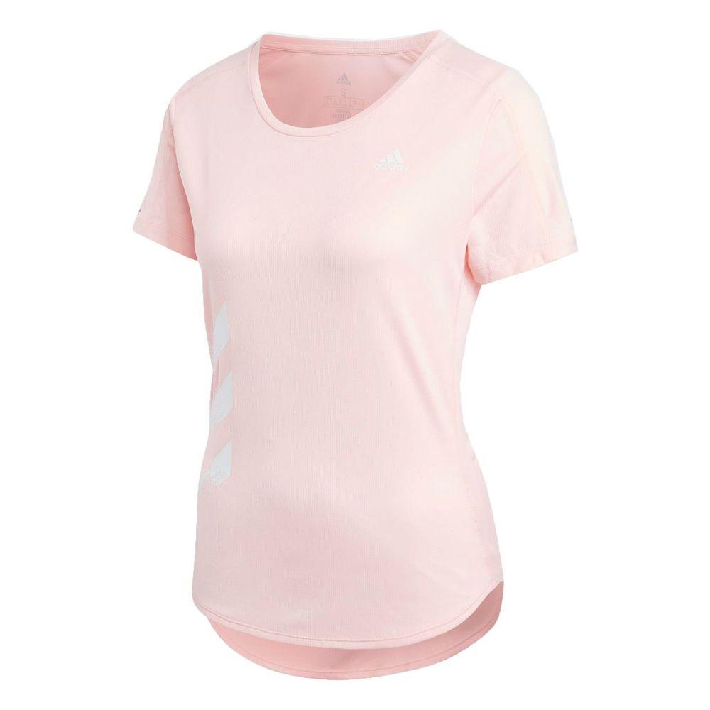 Remera adidas Run It 3 Tiras de Mujer Color: Coral - Talle: XS