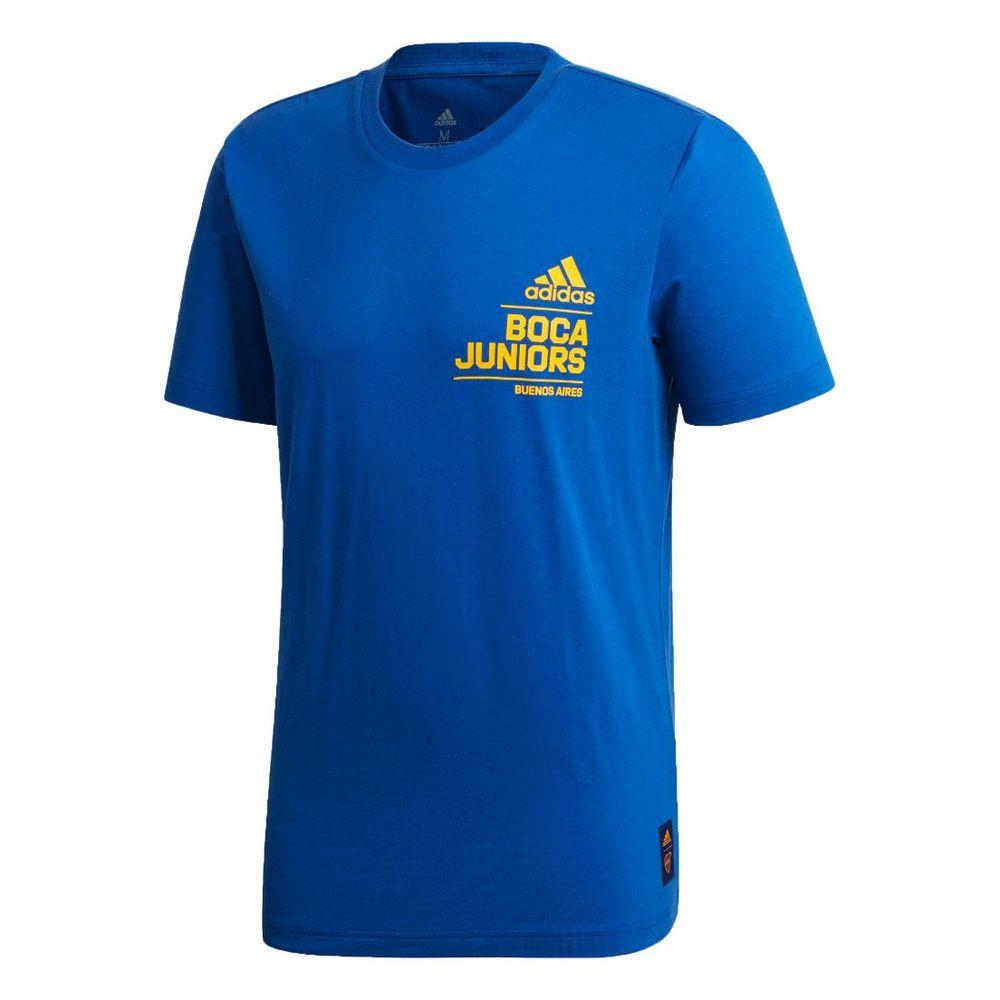 Remera adidas Boca Juniors de Hombre Color: Azul - Talle: S
