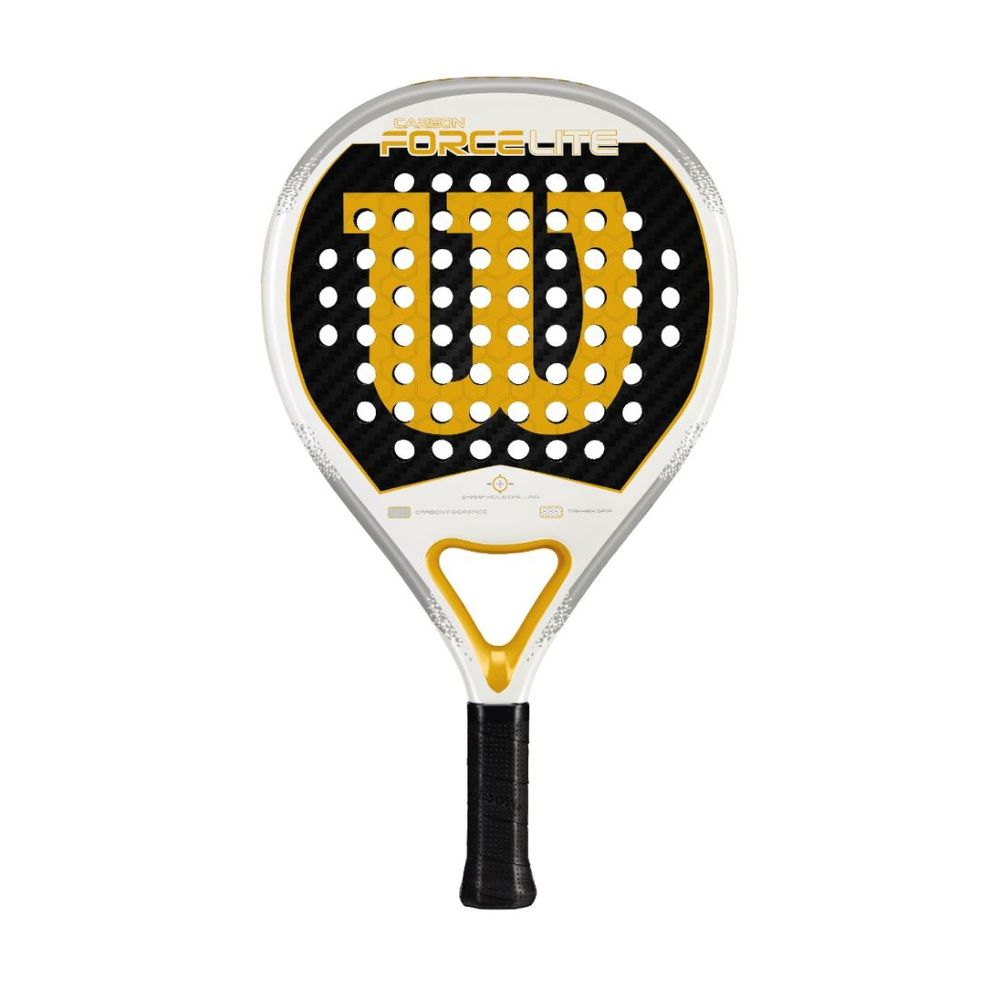 Paleta de Padel Wilson Carbon Force Lite Color: Naranja - Talle: unico