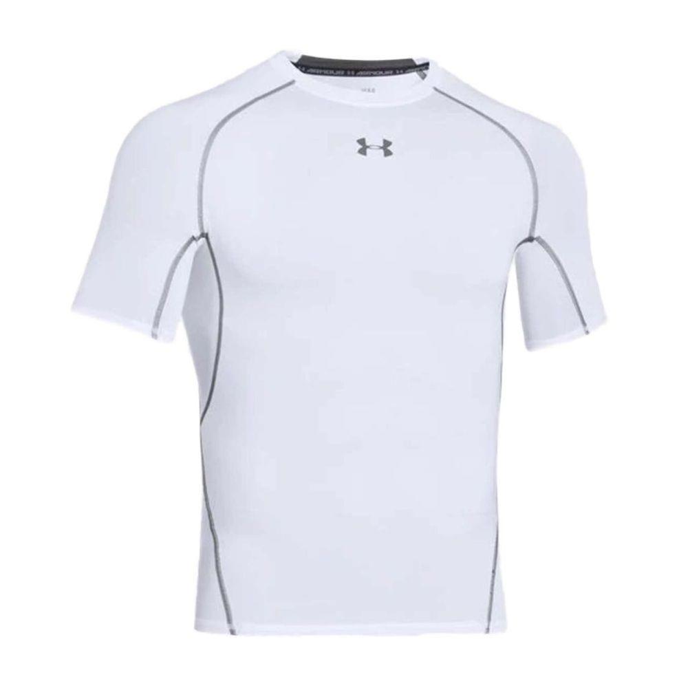 Remera Térmica Under Armour de Hombre Color: Blanco - Talle: S