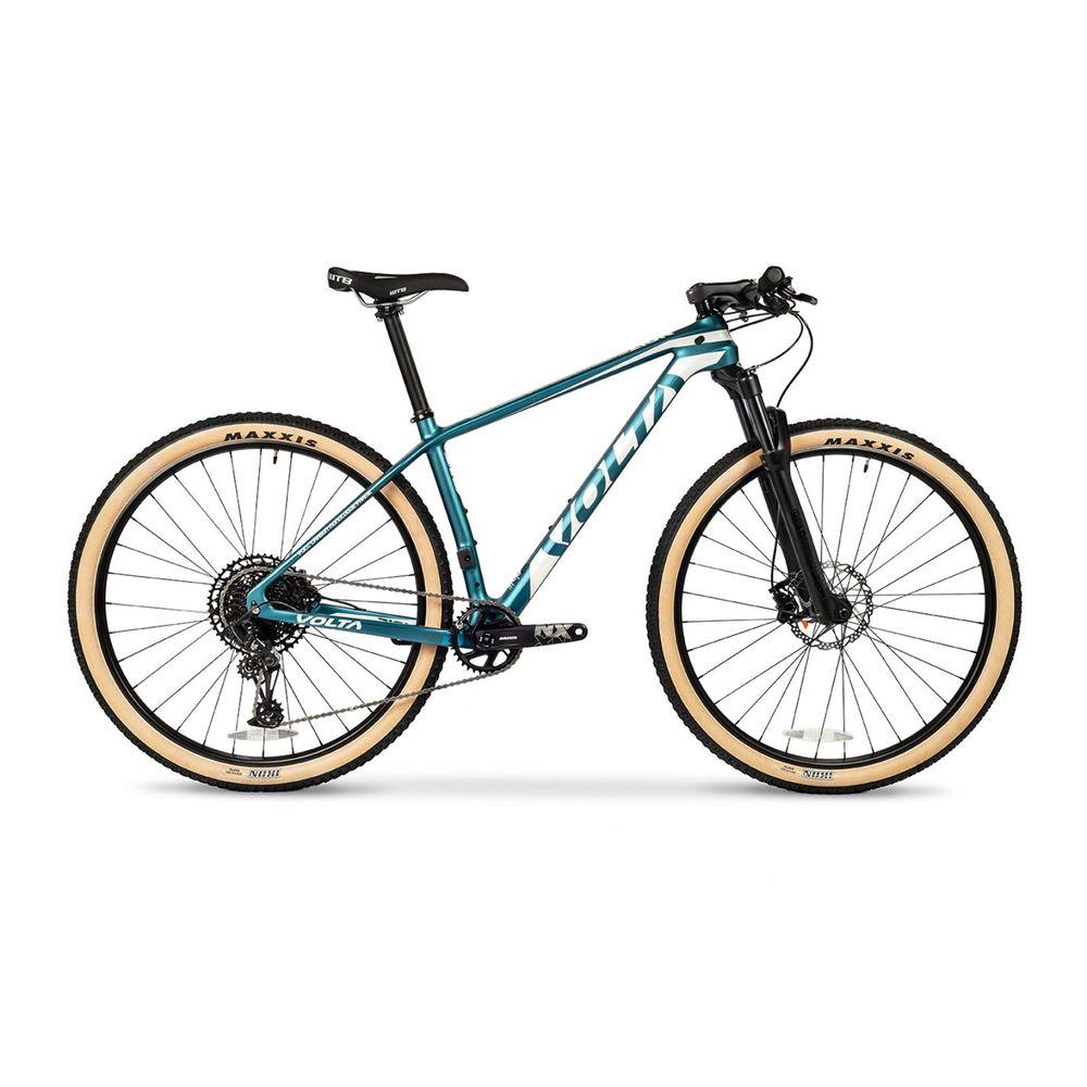 Bicicleta Mtb Volta Zion Nx Carbono Rodado 29 Talle M Color: Celeste - Talle: unico