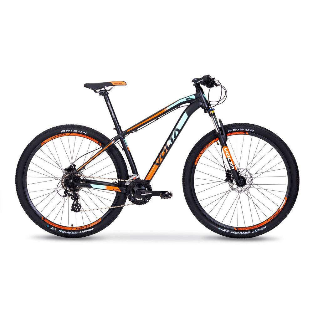 Bicicleta Mtb Volta Razz Aluminio Rodado 29 Talle M Color: Negro - Talle: M
