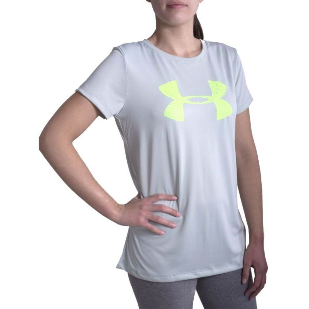 Remera Under Armour Classic Tech de Mujer Color: Celeste - Talle: S