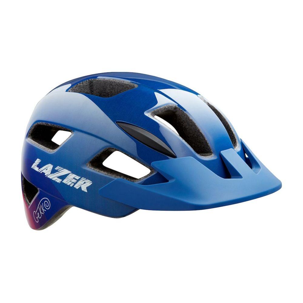 Casco De Ciclismo Lazer Gekko Mips De Niños Color: Azul - Talle: unico