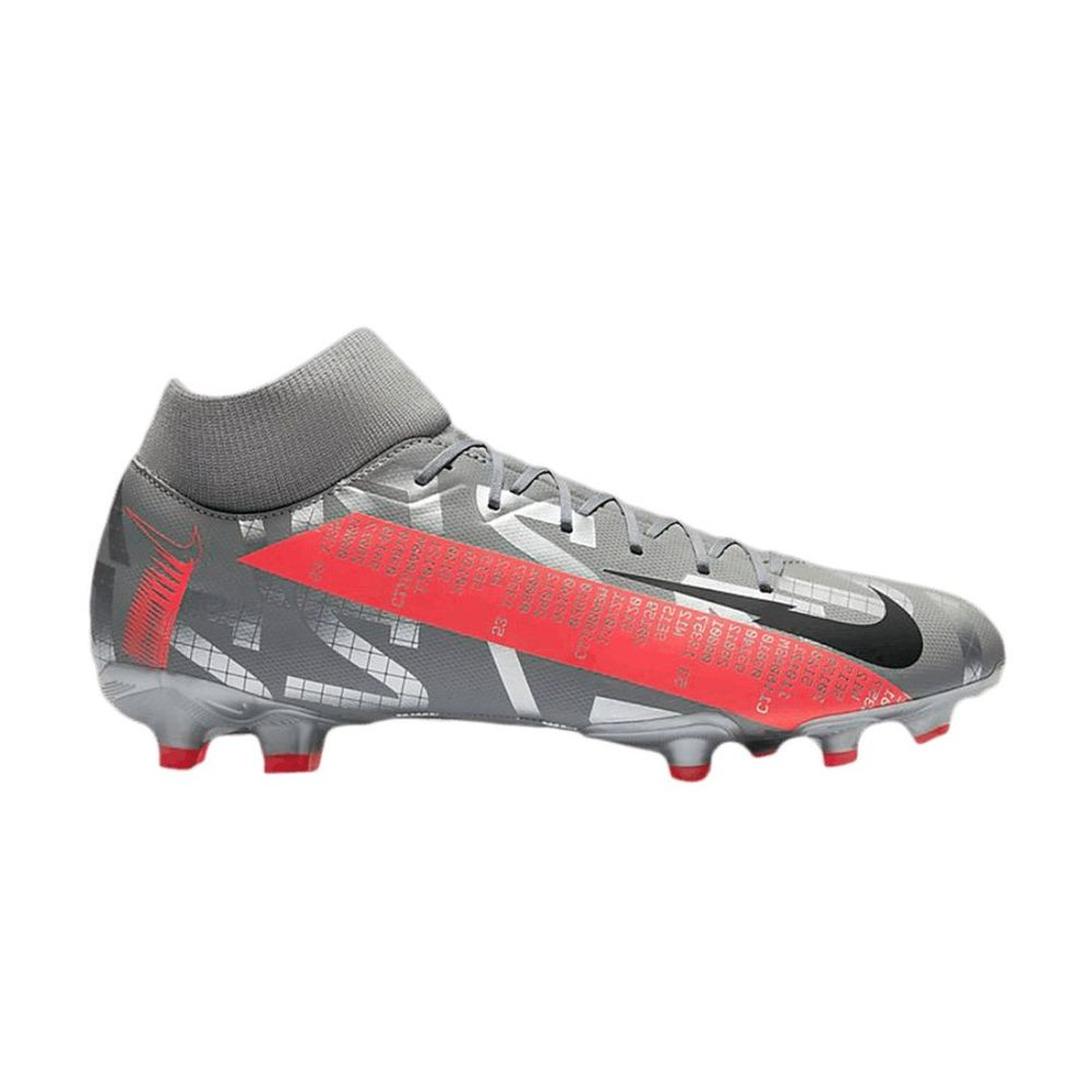 Botines Nike Mercurial Superfly 7 Academy Df Fg De Hombre Color: Plateado - Talle: 39.5