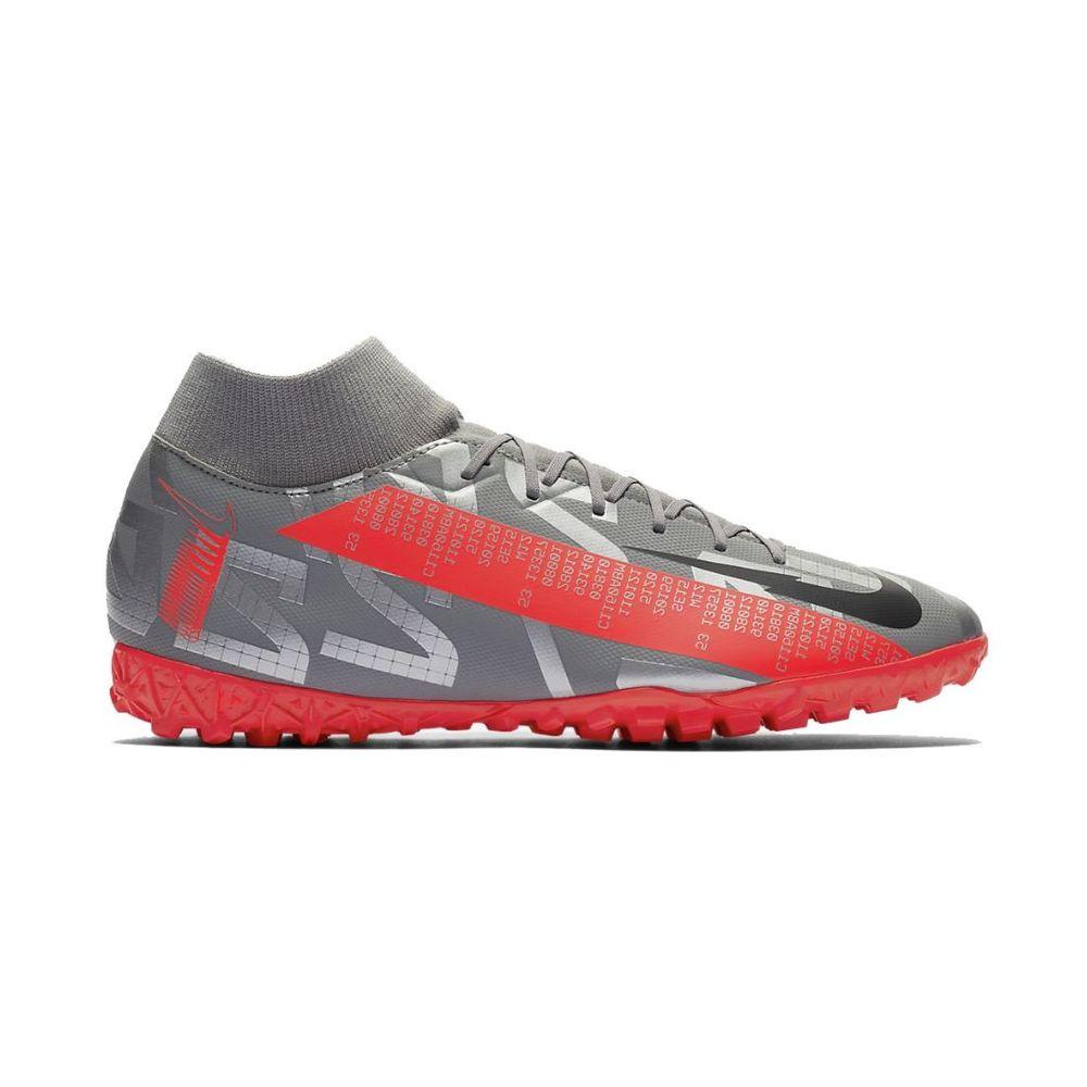 Botines Nike Mercurial Superfly 7 Academy Df Tf De Hombre Color: Gris - Talle: 39.5