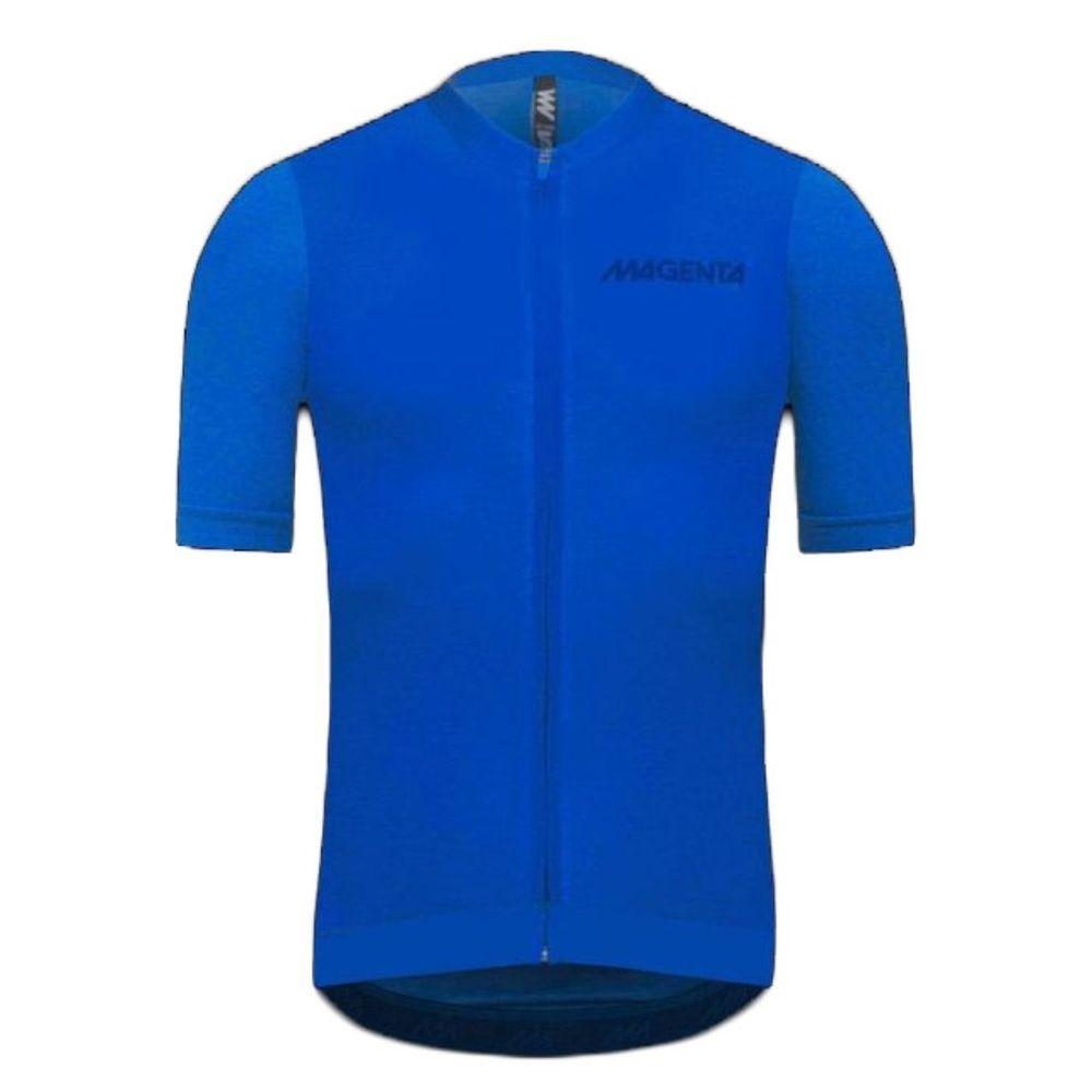 Remera De Ciclismo Magenta Jersey 9.1 Melange De Hombre Color: Azul - Talle: 4