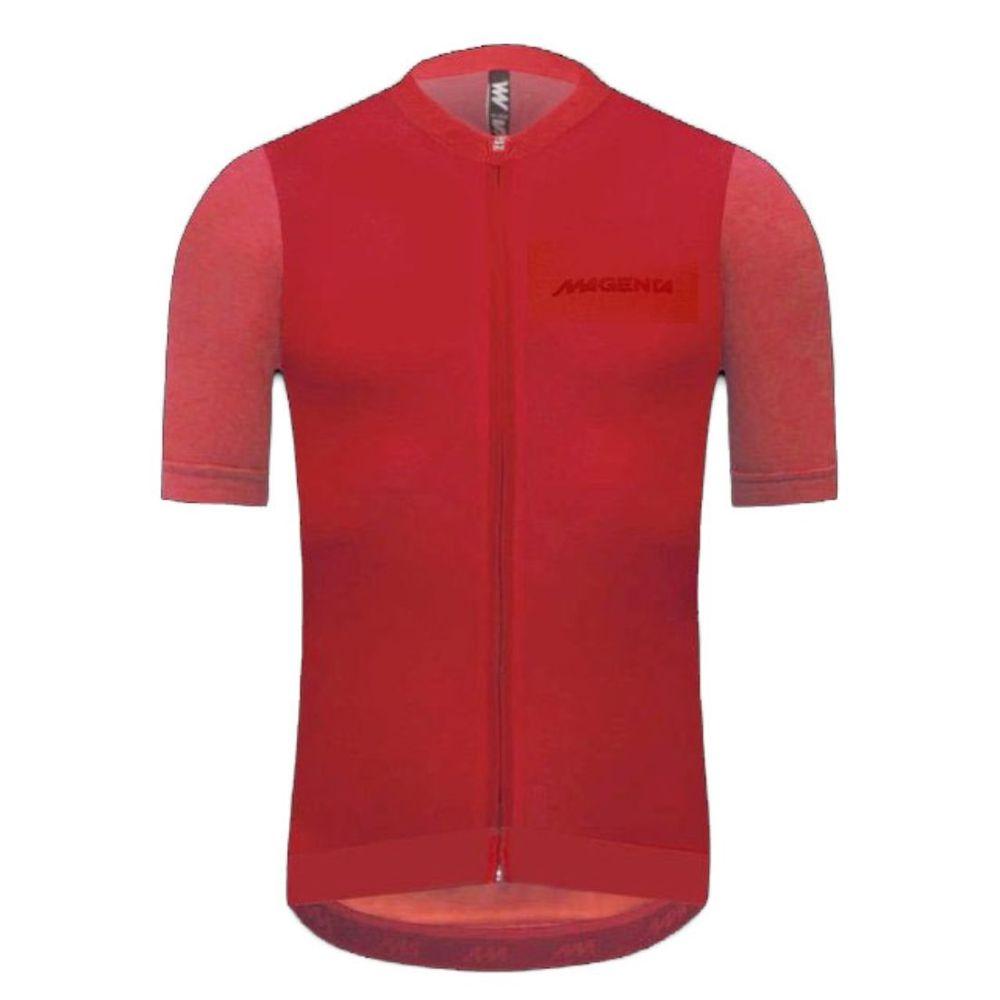 Remera De Ciclismo Magenta Jersey 9.1 Melange De Hombre Color: Rojo - Talle: 4