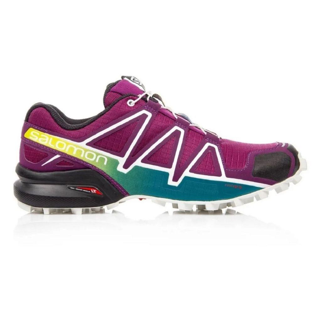 Zapatillas Salomon Speedcross 4 De Mujer Color: Violeta - Talle: 35