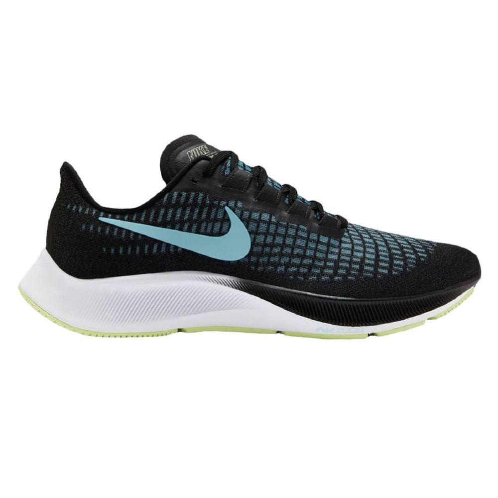 Zapatillas Nike Air Zoom Pegasus 37 De Mujer Color: Negro - Talle: 35