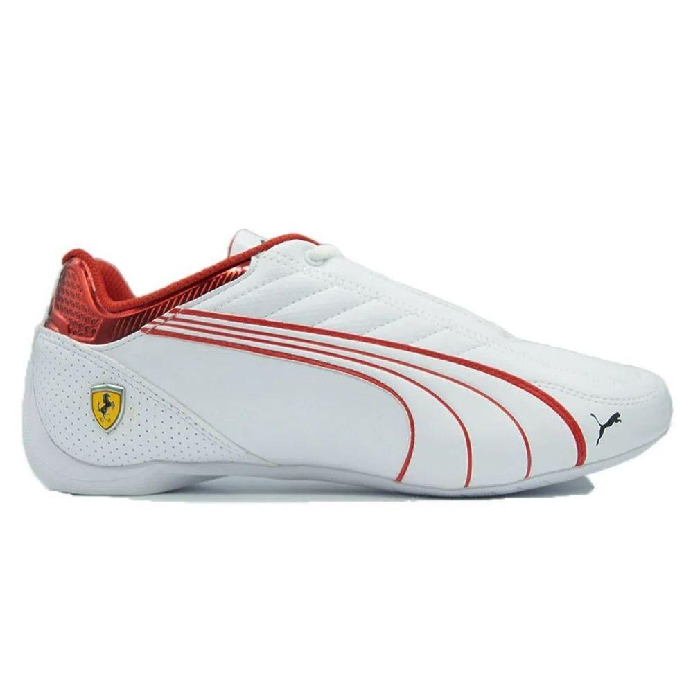 Zapatillas Puma Ferrari Race Future Kart de Hombre Color: Blanco - Talle: 39.5