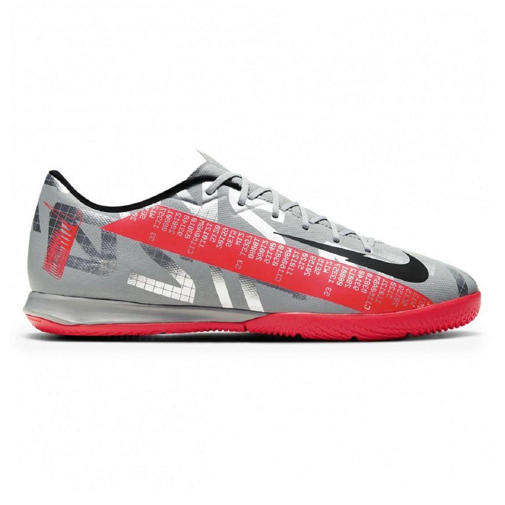 Botines Nike Vapor 13 Academy Ic Futsal De Hombre Color: Plateado - Talle: 39