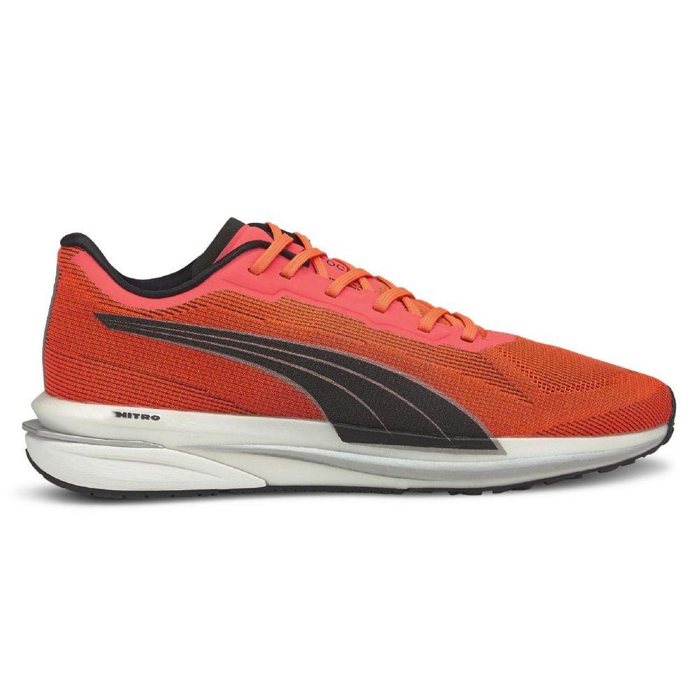 Zapatillas Puma Velocity Nitro De Hombre Color: Naranja - Talle: 43.5