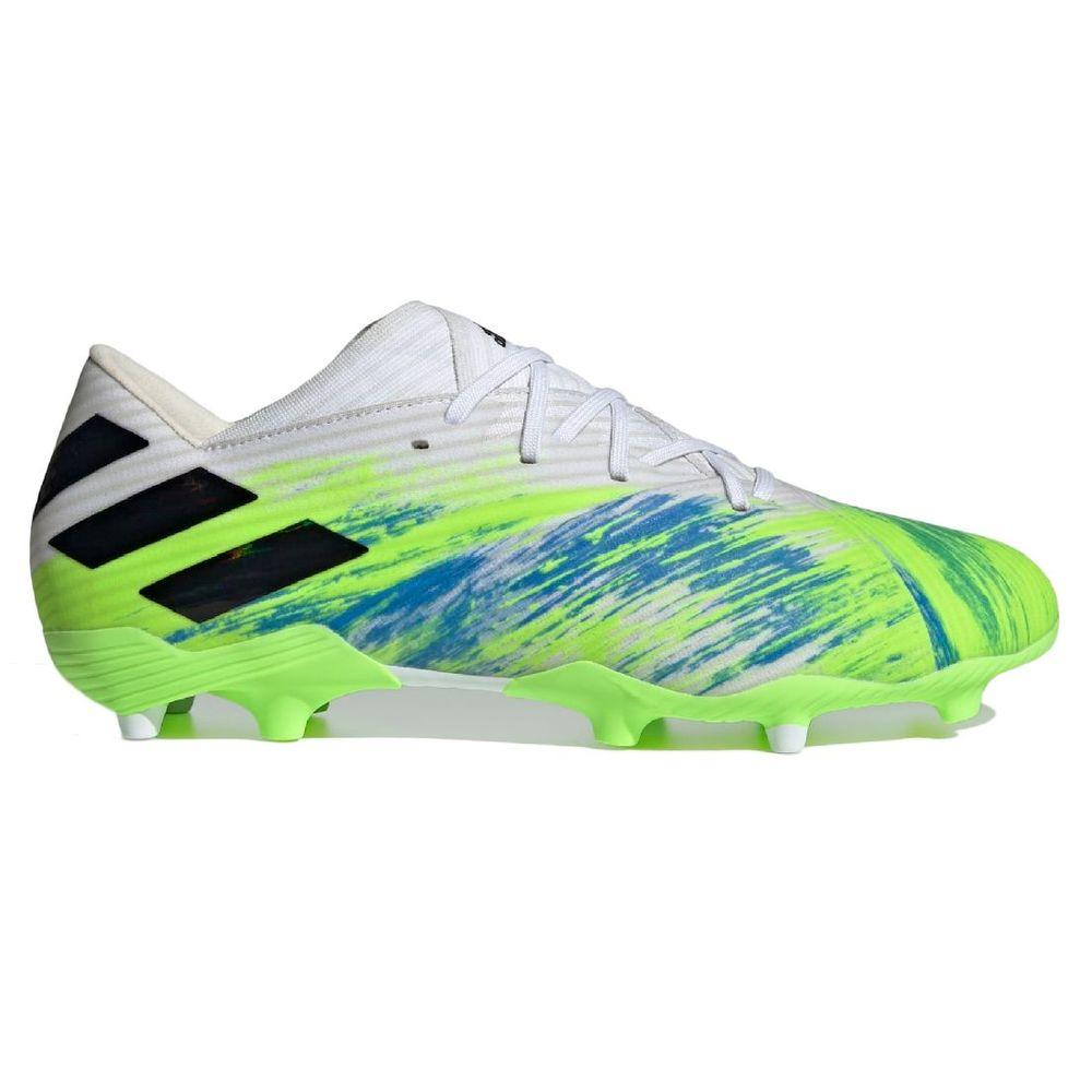 Botines adidas Nemeziz 19.2 FG de Hombre Color: Verde - Talle: 43