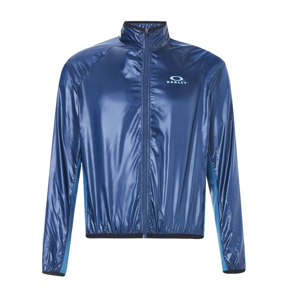 Campera De Ciclismo Oakley Packable 2.0 De Hombre Color: Azul - Talle: M
