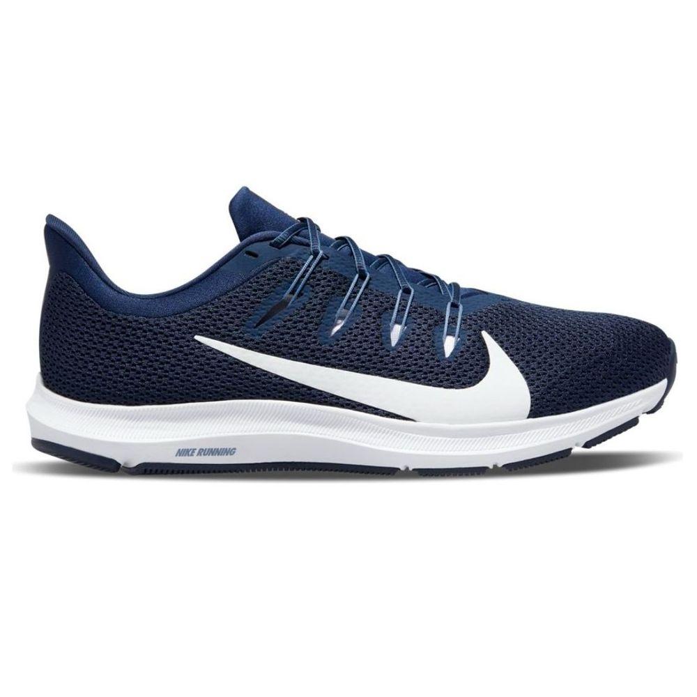 Zapatillas Nike Quest 2 de Hombre Color: Azul - Talle: 40.5