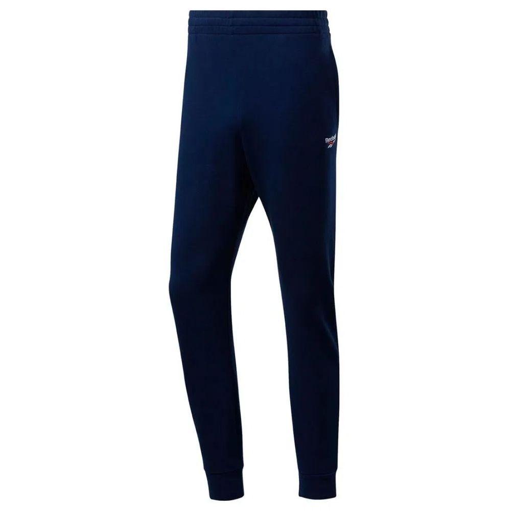 Pantalon Reebok Classics Vector de Hombre Color: Azul - Talle: L
