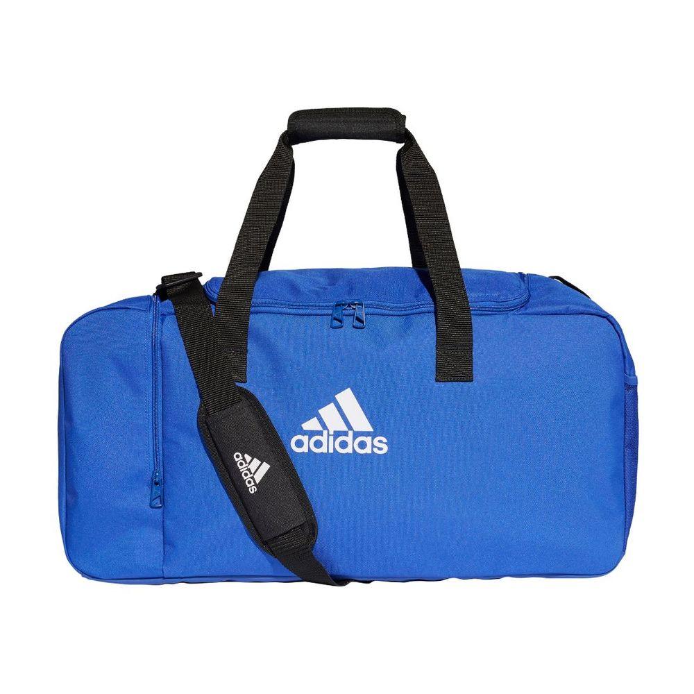 Bolso adidas Tiro Duffle Mediano Unisex Color: Azul - Talle: unico