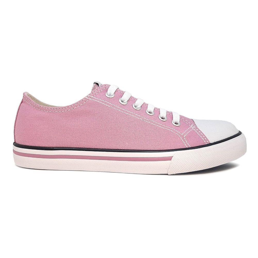 Zapatillas Pony Urban Canvas Ox de Mujer Color: Rosa - Talle: 35