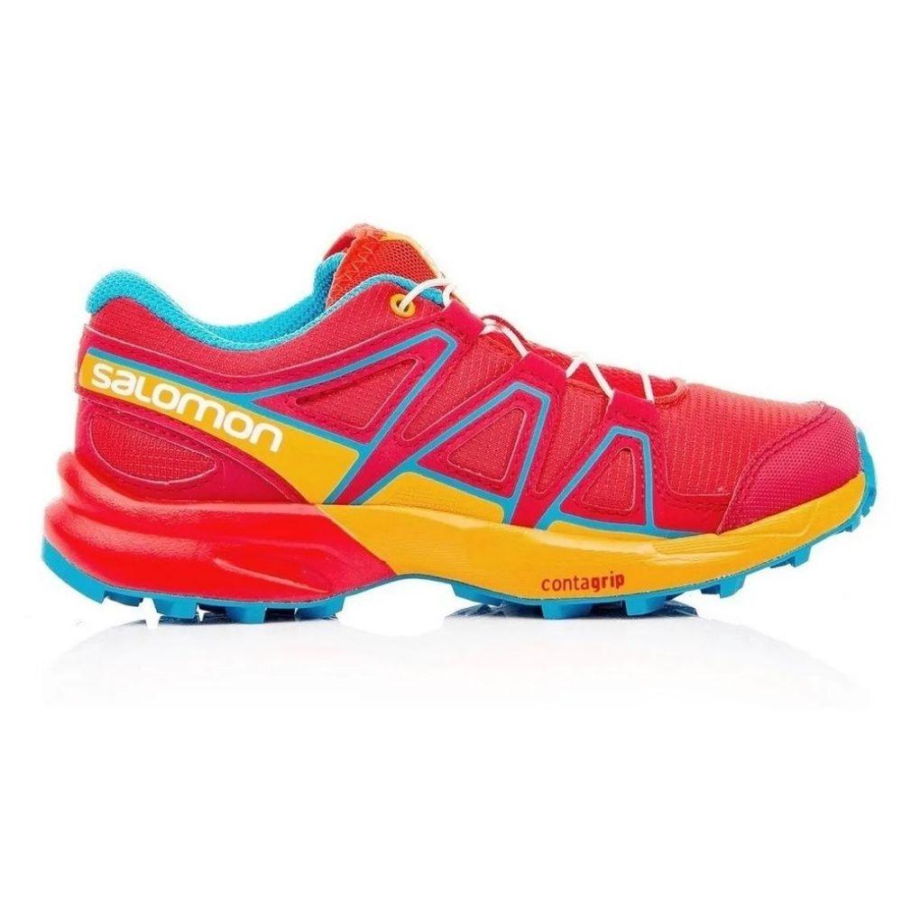 Zapatillas Salomon Speedcross De Niños Color: Rojo - Talle: 33