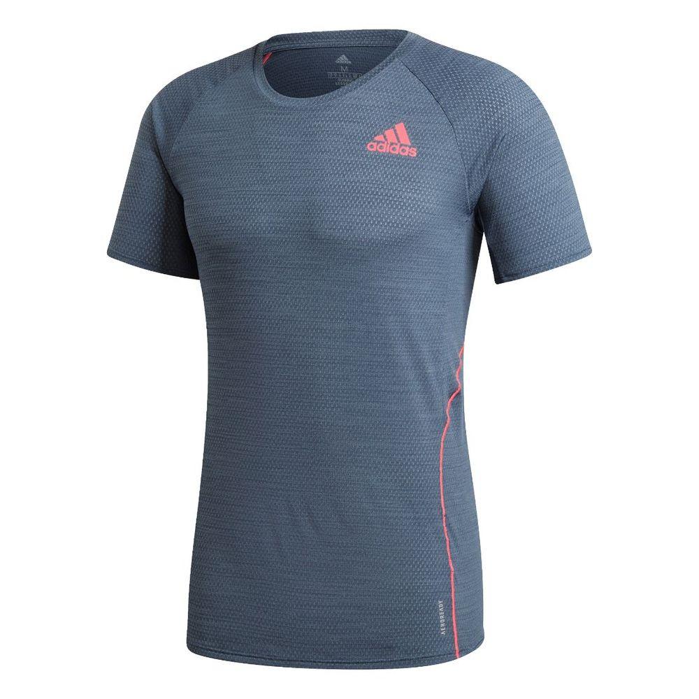 Remera adidas Runner De Hombre Color: Azul - Talle: S