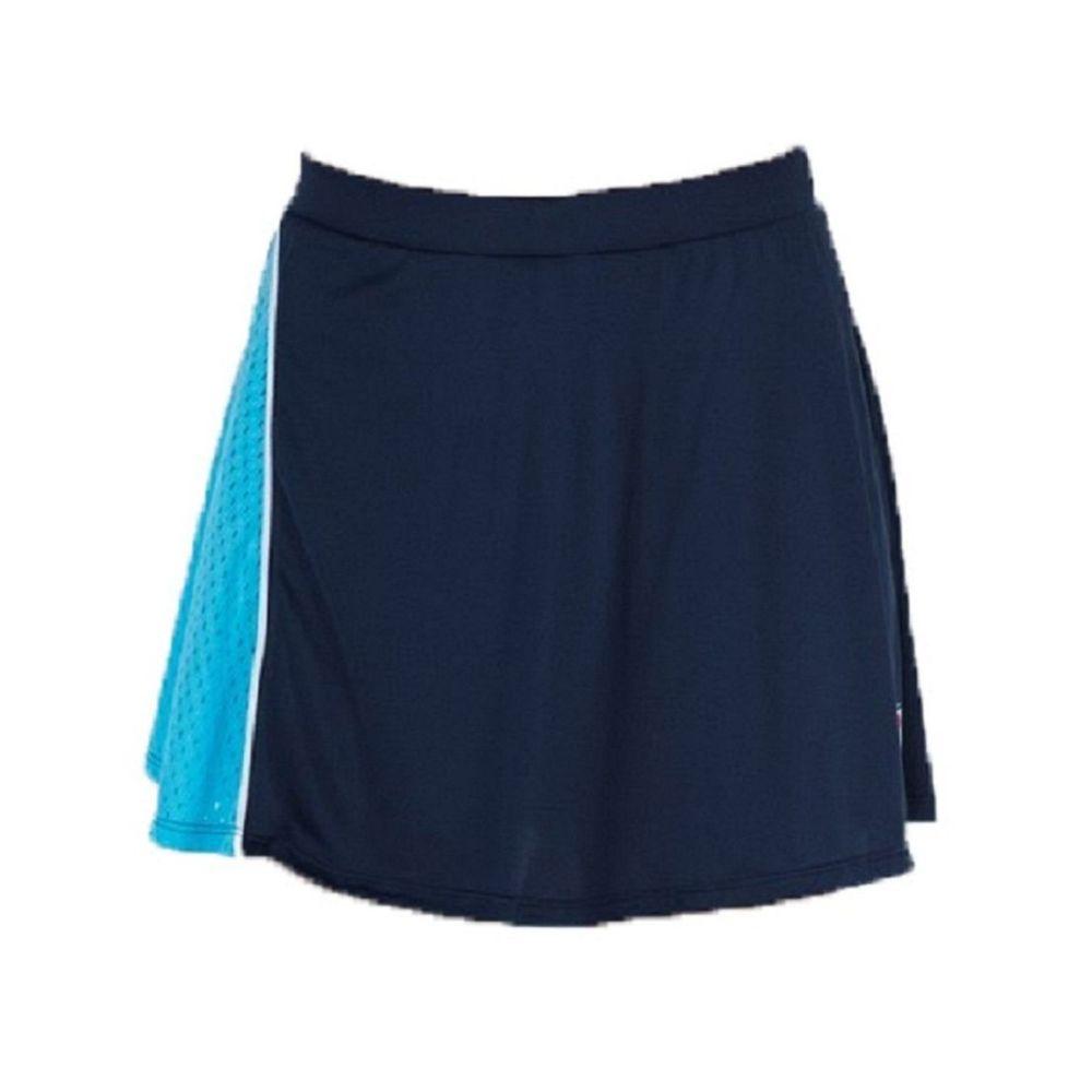 Pollera Fila Aus 21 Jogo Tenis De Mujer Color: Azul - Talle: S