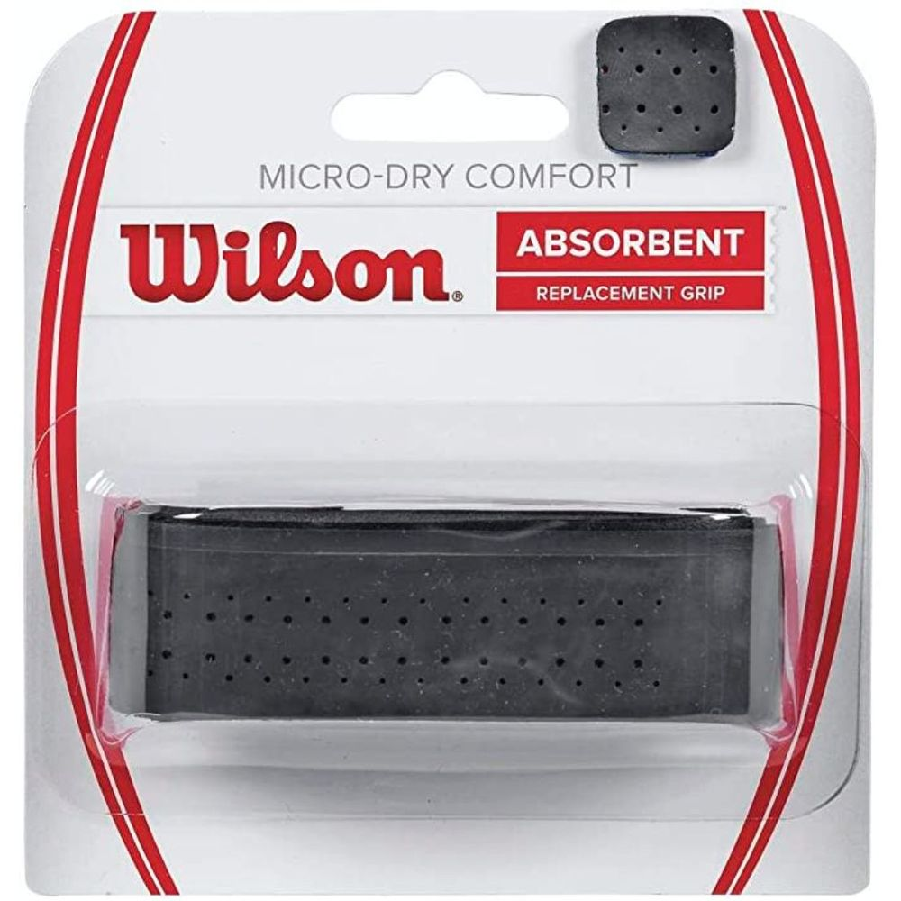 Cubre Grip Wilson Micro Dry Confort Color: Negro - Talle: unico