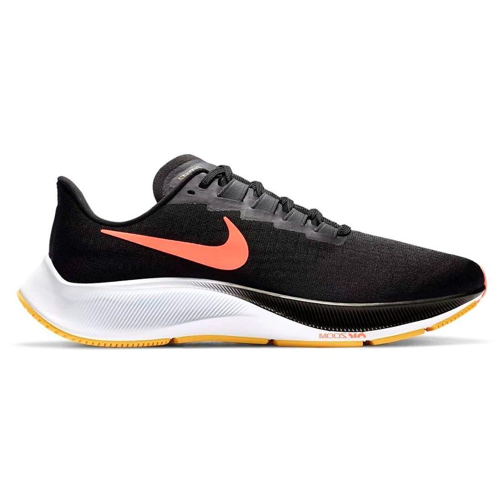 Zapatillas Nike Air Zoom Pegasus 37 De Hombre Color: Negro - Talle: 39