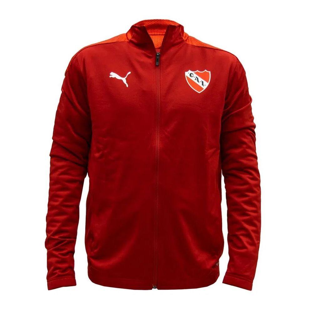 Campera Puma Independiente Stadium De Hombre Color: Rojo - Talle: S