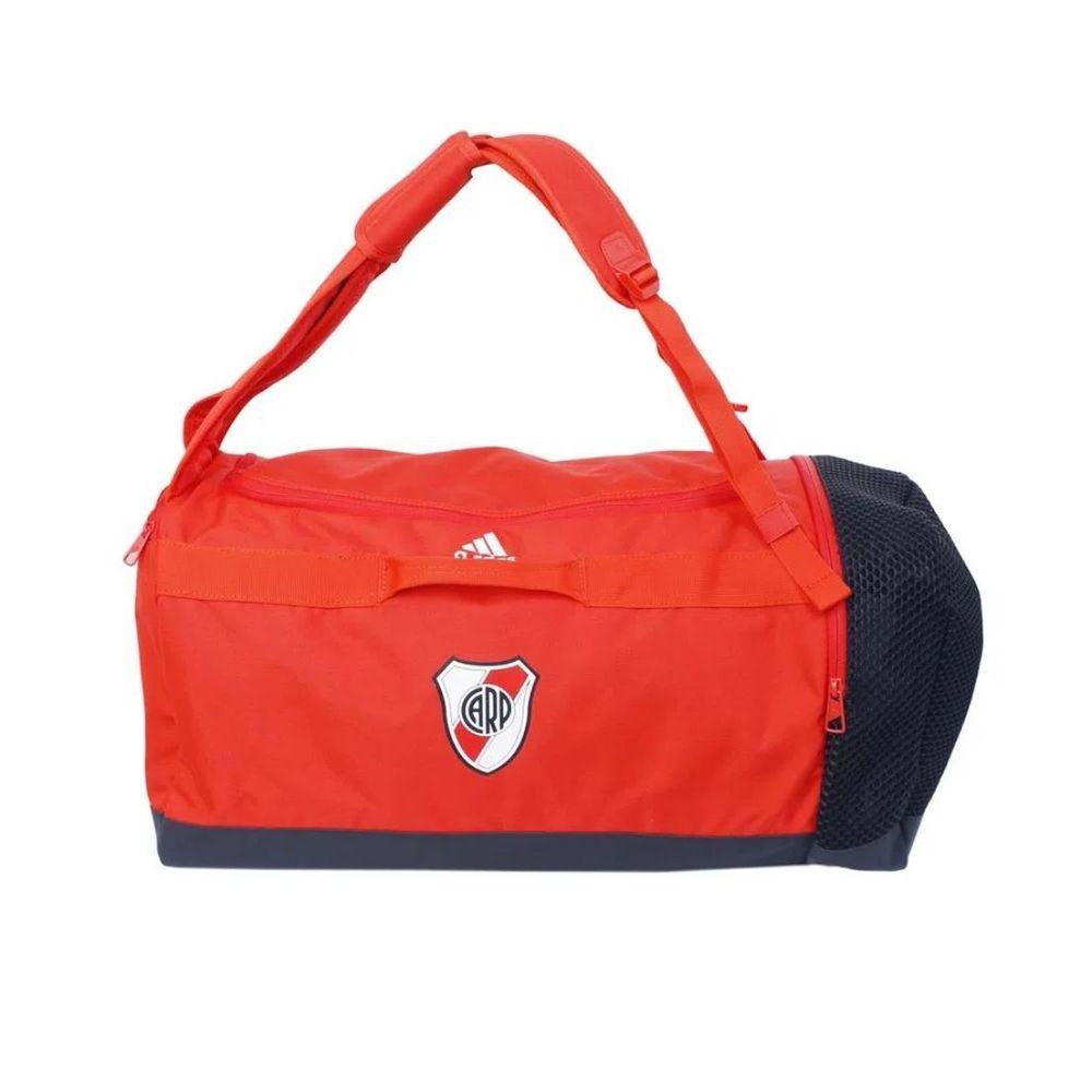 Bolso Mochila adidas River Plate 45 Litros Color: Rojo - Talle: unico